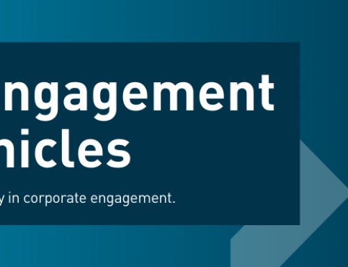 Reflections on 20 years of corporate engagement